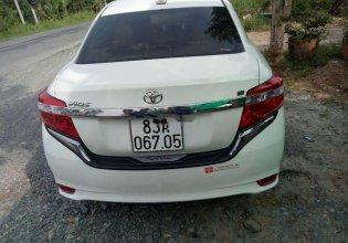 Cần bán lại xe Toyota Vios sản xuất năm 2017, màu trắng, xe nhập xe gia đình, giá chỉ 430 triệu giá 430 triệu tại Vĩnh Long