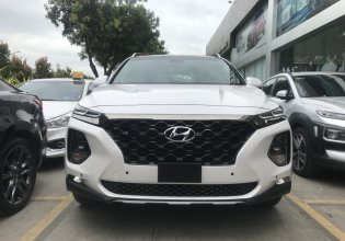 Bán Hyundai Santa Fe đặc biệt 2019, màu trắng, đen, đỏ, xanh, vàng cát, bạc giá 1 tỷ 110 tr tại Tp.HCM