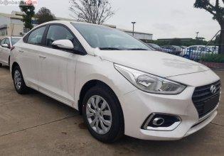 Hyundai Tây Ninh bán Hyundai Accent 1.4 MT Base đời 2019, màu trắng giá 425 triệu tại Tây Ninh