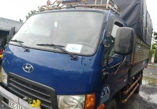 Cần bán xe tải HD65 đời 2009, đăng ký 2010, tải 1 tấn 8 thùng kèo mui bạt, giá cạnh tranh giá 340 triệu tại Tp.HCM
