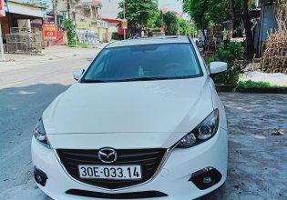 Do nhu cầu đổi lên xe 7 chỗ cần bán xe Mazda 3 2016, màu trắng, 580 triệu giá 580 triệu tại Hà Nội