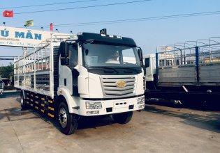 Bán xe tải Faw 8 tấn thùng siêu dai chở pallets giá 750 triệu tại Bình Dương
