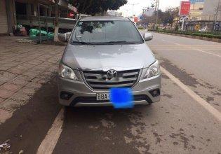 Cần bán lại xe Toyota Innova đời 2015, màu bạc giá 545 triệu tại Vĩnh Phúc