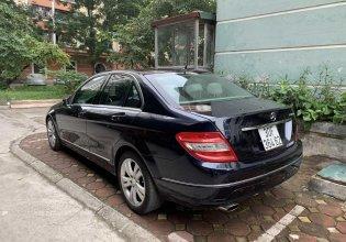 Mercedes C200 2010 màu xanh tím than giá 500 triệu tại Hà Nội