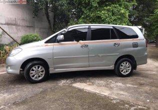 Cần bán lại xe Toyota Innova G sản xuất 2010, màu bạc  giá 415 triệu tại Tp.HCM