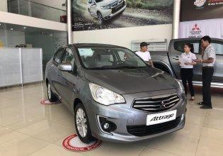 Bán Mitsubishi Attrage nhập khẩu chính hãng, siêu tiết kiệm, rẻ nhất Quảng Nam, hỗ trợ trả góp 80% giá trị xe giá 375 triệu tại Quảng Nam