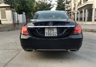 Cần bán Mercedes C200 năm 2016, màu xanh cavansite giá 1 tỷ 155 tr tại Hà Nội