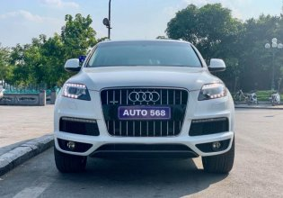 Bán xe Audi Q7 S-Line TFSI Quattro đời 2014, màu trắng, nhập khẩu nguyên chiếc giá 1 tỷ 820 tr tại Hà Nội