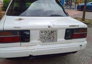 Thanh lý xe Toyota Corolla 1.3 MT 1990, màu trắng, xe nhập giá 45 triệu tại Vĩnh Phúc