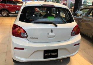 Bán xe Mitsubishi Mirage đời 2018, màu trắng, xe nhập, giá chỉ 350.5 triệu giá 350 triệu tại Bình Dương