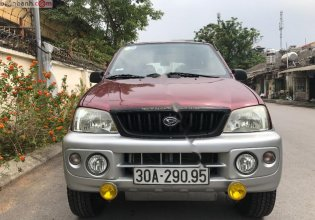 Bán Daihatsu Terios 4x4 MT 2004, màu đỏ, nhập khẩu, số sàn  giá 172 triệu tại Hà Nội