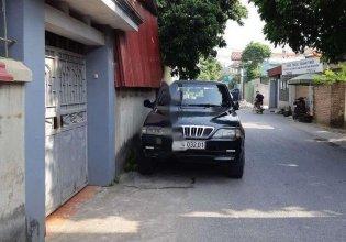 Bán Ssangyong Musso sản xuất năm 2001, màu đen, xe nhập giá 125 triệu tại Hà Nội