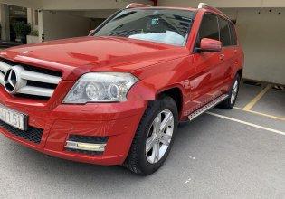 Bán xe Mercedes GLK300 năm sản xuất 2012, màu đỏ giá 800 triệu tại Tp.HCM