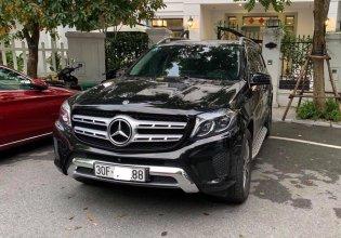 Cần bán lại xe Mercedes GLS400 sản xuất 2018, màu đen, nhập khẩu giá 4 tỷ 319 tr tại Hà Nội