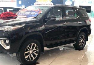Bán ô tô Toyota Fortuner 2.8V 4x4 AT đời 2019, màu đen giá 1 tỷ 324 tr tại Tp.HCM