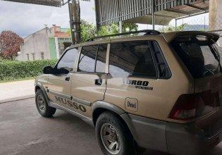 Bán xe Ssangyong Musso sản xuất 2001, màu vàng, xe nhập  giá 125 triệu tại Bình Định
