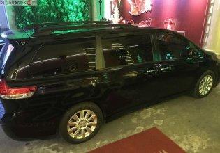 Bán Toyota Sienna Limited 3.5 năm sản xuất 2012, màu đen, xe nhập giá 1 tỷ 850 tr tại Tp.HCM