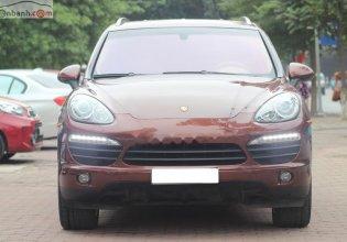 Cần bán lại xe Porsche Cayenne S đời 2010, màu nâu, xe nhập giá 1 tỷ 780 tr tại Hà Nội