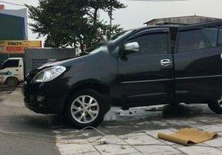 Cần bán lại xe Toyota Innova đời 2009, màu đen giá 300 triệu tại Bắc Giang