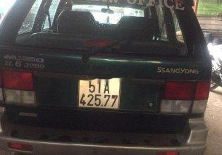Bán Ssangyong Musso đời 1998, xe nhập, màu xanh lá  giá 90 triệu tại Tp.HCM
