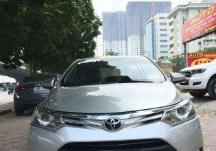 Bán Toyota Vios G AT năm 2016, màu bạc như mới, giá tốt giá 475 triệu tại Hà Nội