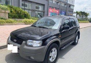 Cần bán lại xe Ford Escape sản xuất 2003, màu đen giá 140 triệu tại Tp.HCM