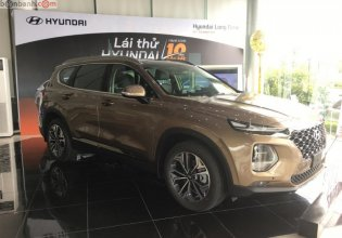 Bán ô tô Hyundai Santa Fe 2.2L HTRAC đời 2019, màu nâu giá 1 tỷ 185 tr tại Hà Nội