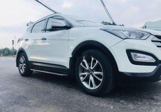 Cần bán lại xe Hyundai Santa Fe sản xuất 2013, màu trắng, nhập khẩu nguyên chiếc số tự động, giá tốt giá Giá thỏa thuận tại Tp.HCM