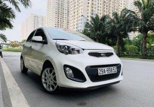 Cần bán gấp Kia Picanto sản xuất 2012, màu trắng còn mới, nguyên bản giá 306 triệu tại Hà Nội