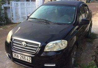 Cần bán lại xe Daewoo Gentra SX 1.5L đời 2007, màu đen, giá tốt giá 127 triệu tại Đắk Lắk