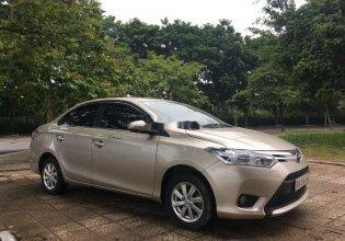 Cần bán Toyota Vios năm 2015, màu vàng, số sàn, giá cạnh tranh giá 387 triệu tại Hà Nội