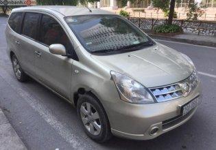 Cần bán xe Nissan Grand livina đời 2011, màu vàng chính chủ, giá chỉ 380 triệu giá 380 triệu tại Hà Nội