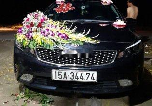 Cần bán lại xe Kia Cerato năm 2017, màu đen giá 500 triệu tại Hải Phòng