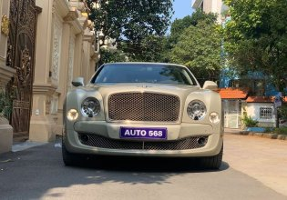 Bán xe Bentley Mulsanse 6.75 V8 đời 2010, màu trắng, nhập khẩu nguyên chiếc giá 8 tỷ 900 tr tại Hà Nội