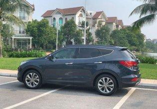 Bán Hyundai Santa Fe đời 2013, màu đen, nhập khẩu chính hãng giá 799 triệu tại Hà Nội