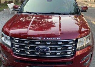 Cần bán lại xe Ford Explorer 2017, màu đỏ, nhập khẩu chính hãng giá 1 tỷ 720 tr tại Tp.HCM