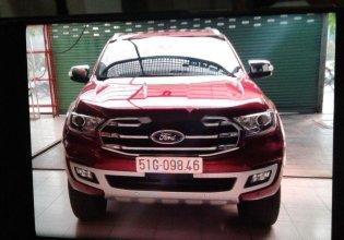 Cần bán lại xe Ford Everest năm 2018, màu đỏ, xe nhập chính hãng giá 1 tỷ 360 tr tại Tp.HCM