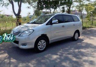 Bán Toyota Innova sản xuất năm 2008, màu bạc, xe gia đình  giá 340 triệu tại Hải Phòng