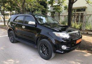 Cần bán gấp Toyota Fortuner 2.5 G 2015, màu đen số sàn giá 780 triệu tại Hà Nội