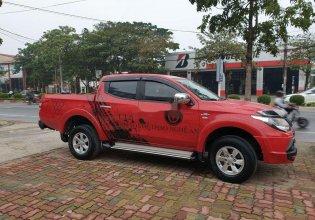 Bán Mitsubishi Triton GLX AT năm 2017, màu đỏ, nhập khẩu số tự động giá 485 triệu tại Nghệ An