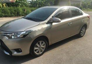 Cần bán gấp Toyota Vios 1.5E năm 2018, màu vàng, xe gia đình giá 455 triệu tại Hải Phòng