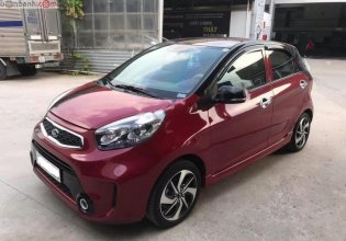 Cần bán Kia Morning năm sản xuất 2018, màu đỏ, số sàn giá 328 triệu tại Tp.HCM