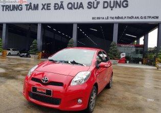 Bán Toyota Yaris năm sản xuất 2013, màu đỏ, nhập khẩu nguyên chiếc giá 520 triệu tại Tp.HCM