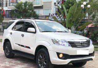 Bán Toyota Fortuner 2.7 V TRD 4x2 đời 2014, màu trắng, giá chỉ 690 triệu giá 690 triệu tại Hà Nội