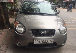 Bán Kia Morning SLX 1.0 AT 2008, màu xám, xe nhập, số tự động giá 215 triệu tại Hà Nội