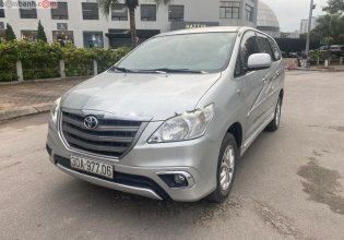 Cần bán lại xe Toyota Innova sản xuất năm 2014, màu bạc chính chủ, giá tốt giá 480 triệu tại Hà Nội