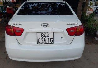 Bán xe Hyundai Elantra sản xuất năm 2008, màu trắng, nhập khẩu giá 185 triệu tại Trà Vinh