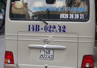Bán Hyundai County năm 2011, hai màu, nhập khẩu nguyên chiếc giá 700 triệu tại Quảng Ninh