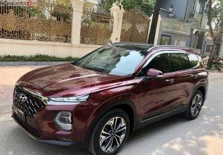 Bán ô tô Hyundai Santa Fe 2.2L HTRAC năm sản xuất 2019, màu đỏ giá 1 tỷ 270 tr tại Hà Nội