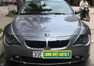 Cần bán gấp BMW 6 Series 650i năm 2007, xe nhập chính chủ, giá tốt giá 700 triệu tại Hà Nội
